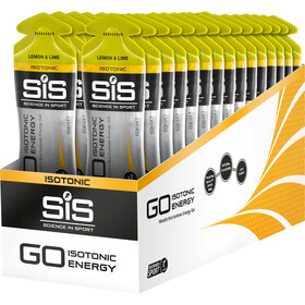 SiS GO Isotonic Energy Gel Sacoche 30x60ml, Lemon and Lime